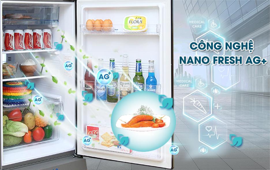 Chức năng Nano Fresh Ag+ diệt khuẩn hiệu quả, bảo vệ sức khoẻ