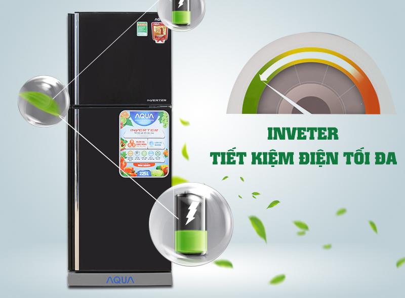 Tủ lạnh Inverter tiết kiệm điện, vận hành êm ái