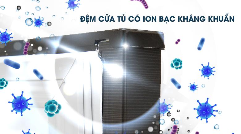 Đệm cửa Ion bạc kháng khuẩn - Tủ lạnh Mitsubishi Electric Inverter 326 lít MR-CX41EJ-BRW-V
