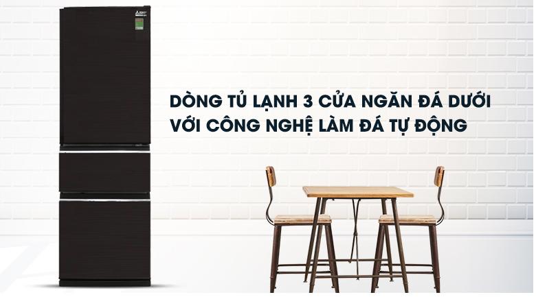 Tủ lạnh Mitsubishi Electric Inverter 358 lít MR-CX46EJ-BRW-V