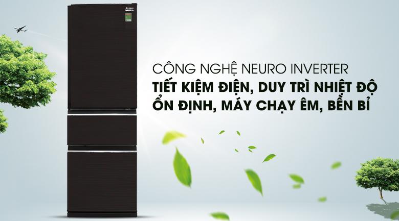 Tủ lạnh Mitsubishi Electric MR-CX46EJ-BRW-V - Inverter