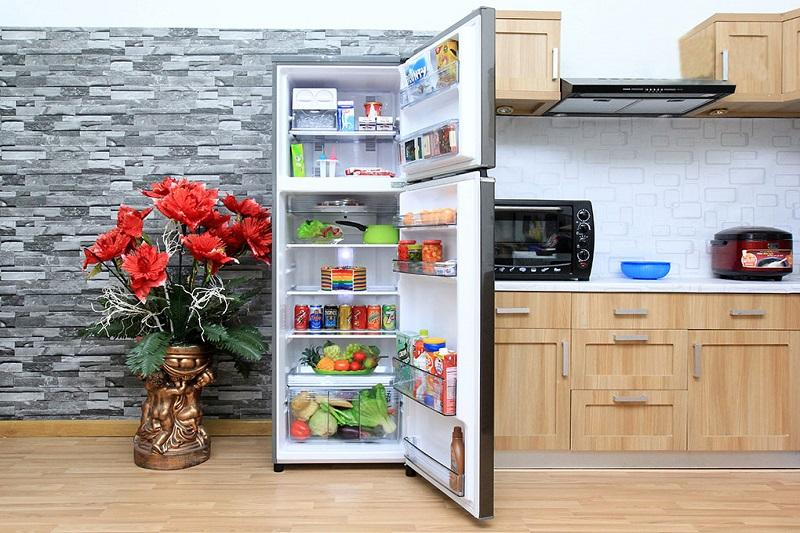 Sở hữu thiết kế độc đáo, tủ lạnh Panasonic NR-BL347PSVN gần như phù hợp với mọi căn bếp hiện nay