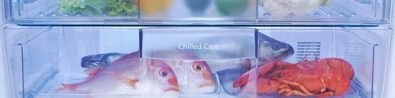 Giữ tươi thịt và cá, nhưng không hạ đến nhiệt độ làm đông, hộp ướp lạnh của tủ lạnh Panasonic NR-CY557GKVN giúp hạn chế sự rã đông gây mất chất dinh dưỡng