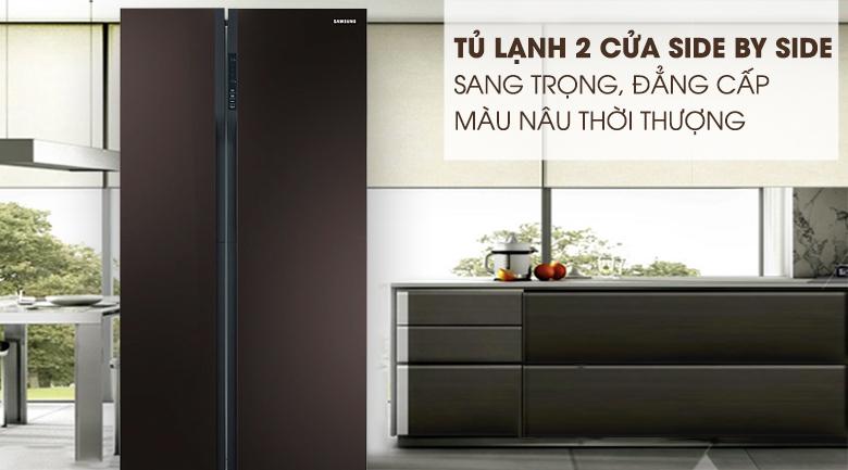 Tủ lạnh Samsung RS552NRUA9M/SV