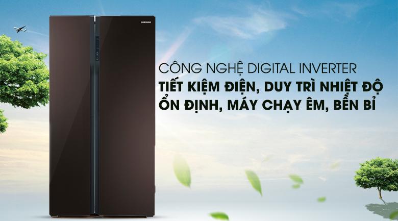 Công nghệ Inverter - Tủ lạnh Samsung Inverter 548 lít RS552NRUA9M/SV