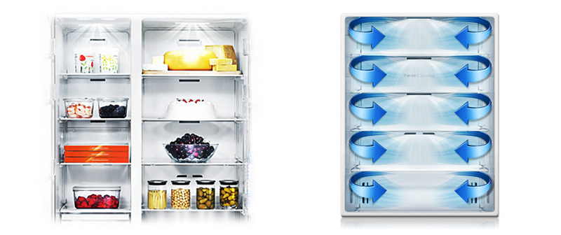 Hệ thống làm lạnh 2 dàn lạnh riêng biệt
