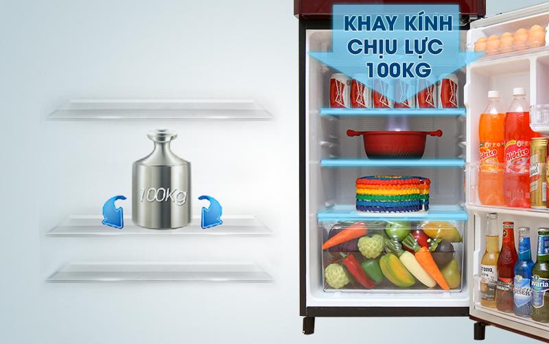 Khay kính chịu lực của tủ lạnh Panasonic 186 lít NR-BN201GAVN
