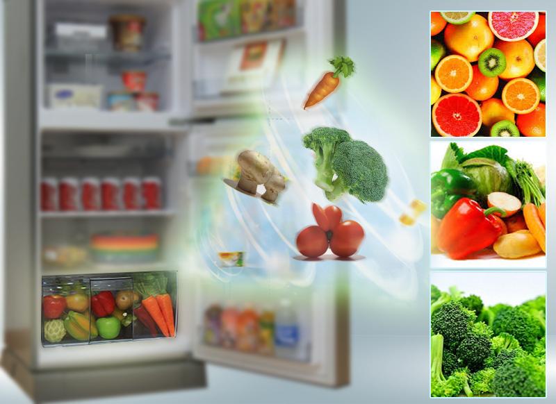 Ngăn rau quả giữ ẩm
