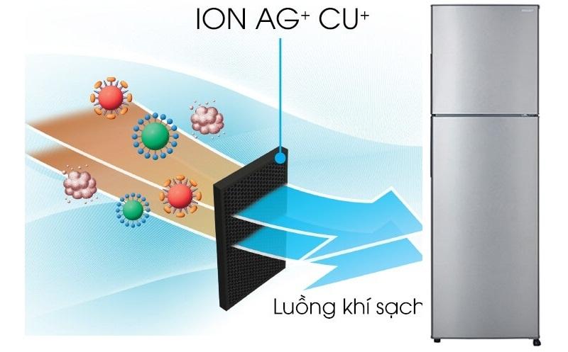 Bộ lọc phân tử bạc và đồng giúp kháng khuẩn, khử mùi