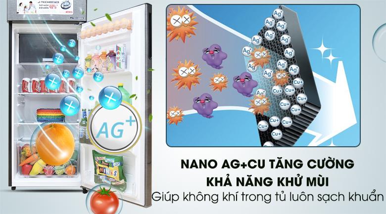 Bộ lọc Nano Ag+Cu - Tủ lạnh Sharp Inverter 271 lít SJ-X281E-DS