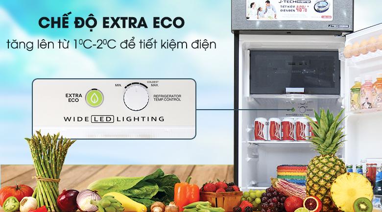 Chế độ Extra Eco - Tủ lạnh Sharp Inverter 271 lít SJ-X281E-DS