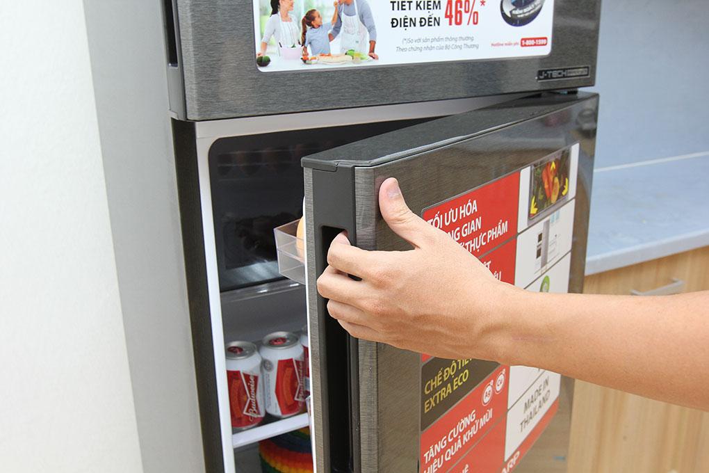 Tủ lạnh Sharp 271 lít SJ-X281E-DS hình 3