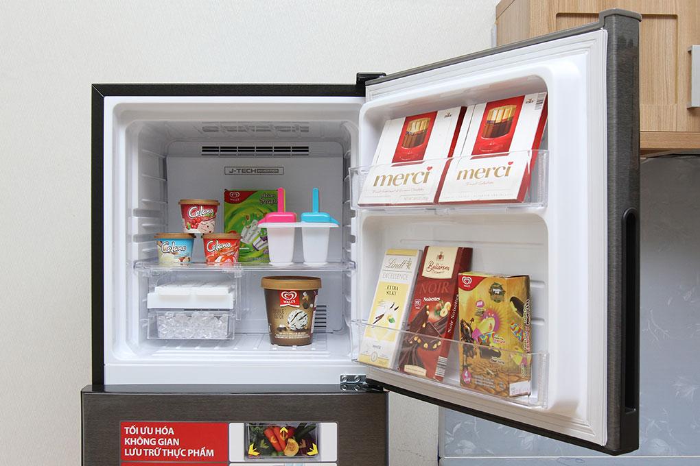 Tủ lạnh Sharp 271 lít SJ-X281E-DS hình 5