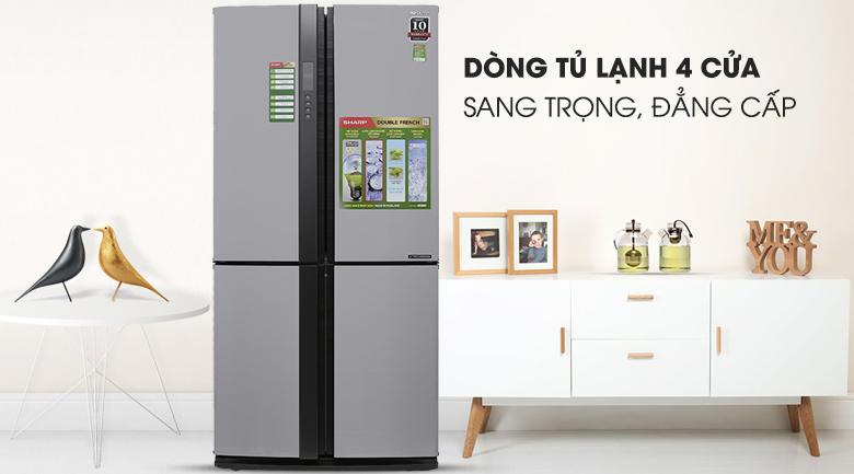 Tủ lạnh Sharp SJ-FX680V-ST