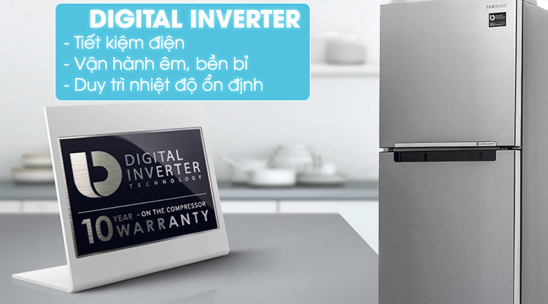 Công nghệ Digital Inverter của tủ lạnh Samsung RT29K5012S8/SV