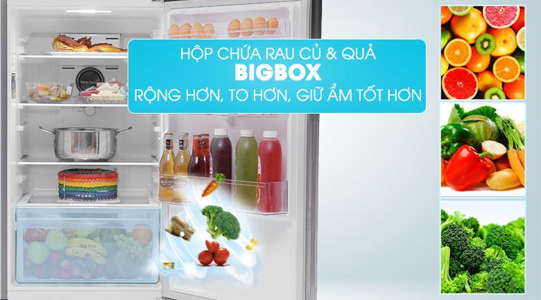 Bigbox - Tủ lạnh Samsung 299 lít RT29K5012S8/SV