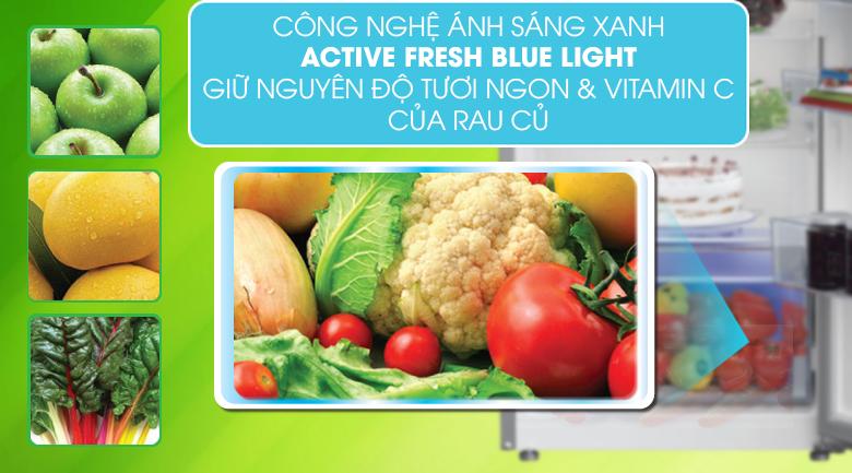 Tủ lạnh Beko RDNT230I50VZX - Công nghệ Active Blue Light giúp thực phẩm tươi ngon
