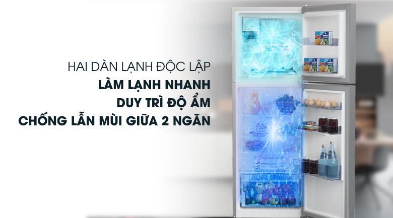 Tủ lạnh Beko RDNT250I50VZX - Công nghệ làm lạnh độc lập