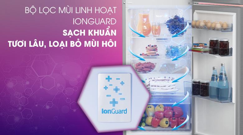 Tủ lạnh Beko RDNT250I50VZX - Bộ lọc mùi linh hoạt IonGuard