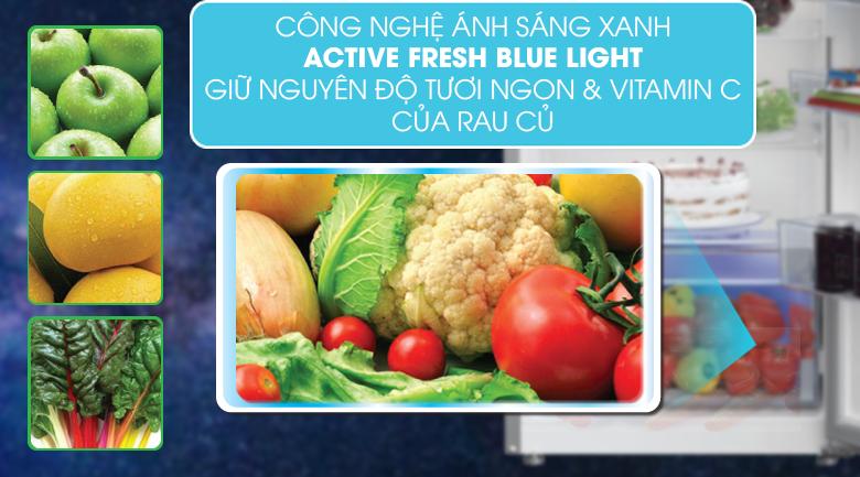Tủ lạnh Beko RDNT250I50VZX - Công nghệ Active Blue Light giữ thực phẩm tươi ngon