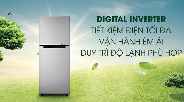 Digital Inverter - Tủ lạnh Samsung Inverter 208 lít RT20K300ASE/SV