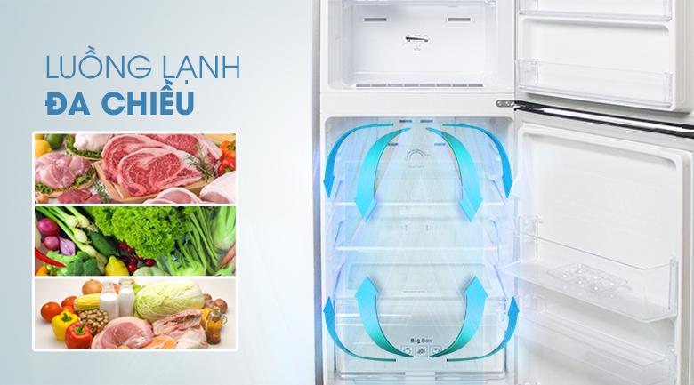 Luồng lạnh đa chiều - Tủ lạnh Samsung Inverter 208 lít RT20K300ASE/SV