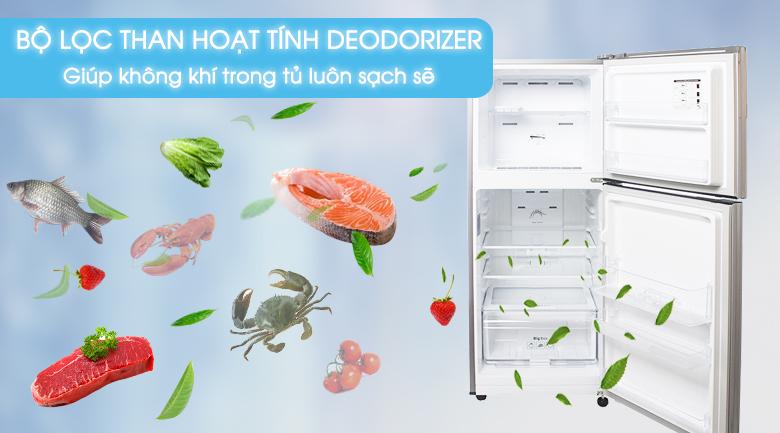 Bộ lọc khử mùi than hoạt tính - Tủ lạnh Samsung Inverter 208 lít RT20K300ASE/SV