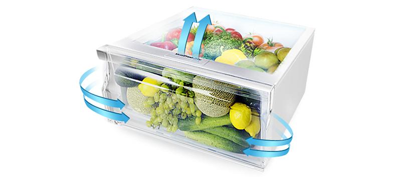 Tủ lạnh Samsung RT20K300ASE/SV – Giữ thức ăn tươi lâu hơn