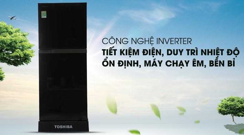 Inverter - Tủ lạnh Toshiba 186 lít GR-M25VMBZ(UKG)