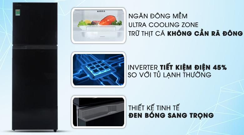 Hybrid Bio - Tủ lạnh Toshiba 226 lít GR-M28VHBZ(UKG)