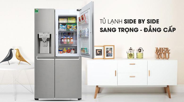 Tủ lạnh LG Inverter 601 lít GR-P247JS