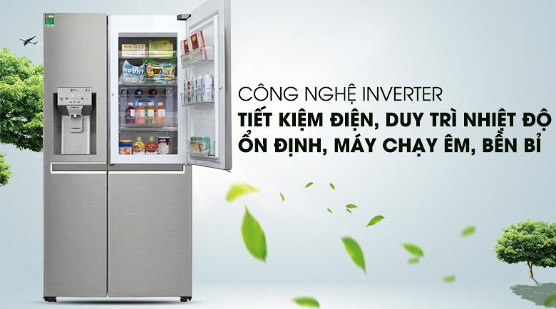 Công nghệ Inverter hiện đại - Tủ lạnh LG Inverter 601 lít GR-P247JS