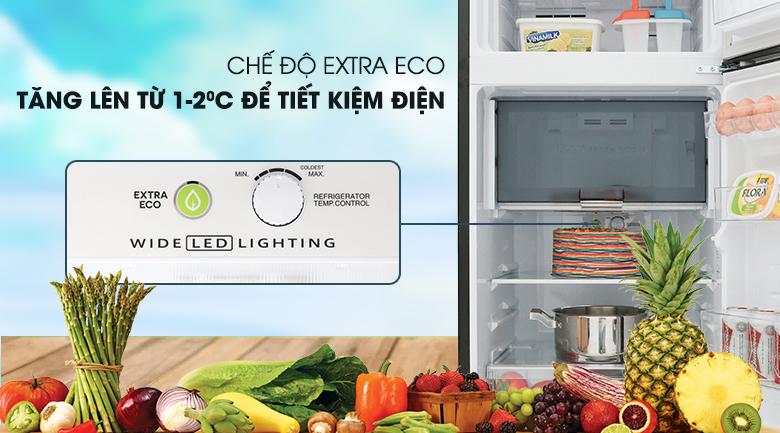 Chế độ Extra Eco -  Tủ lạnh Sharp Inverter 196 lít SJ-X201E-DS