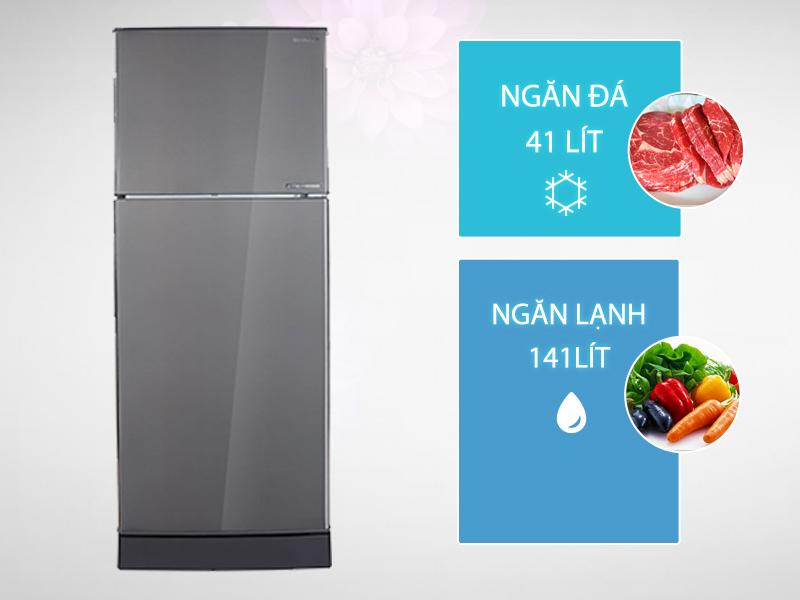 Tủ lạnh Sharp SJ-X201E-DS