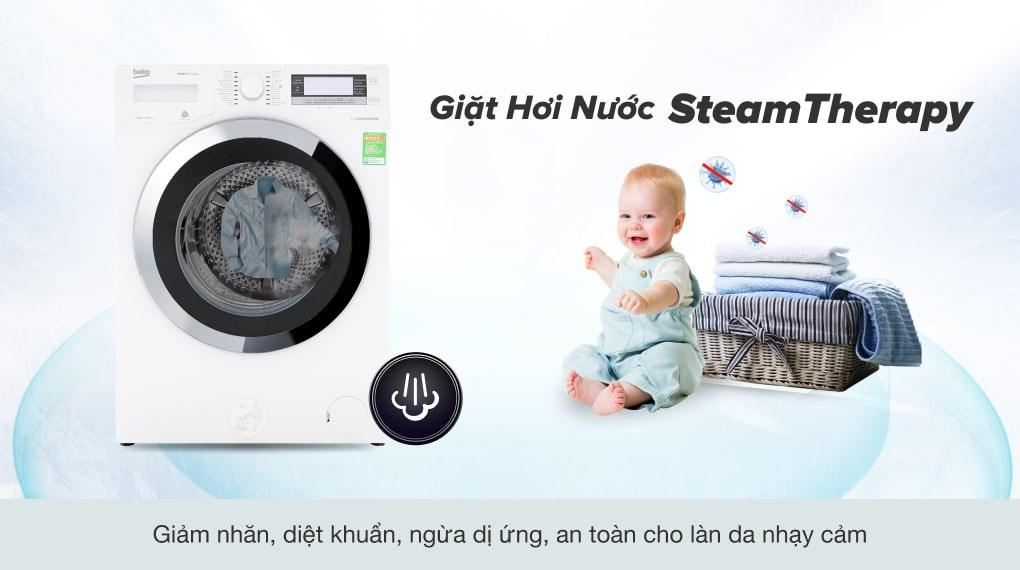 Khối lượng giặt - Máy giặt Beko Inverter 11kg WTE 11735 XCST