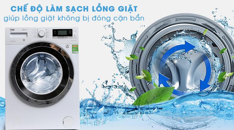Chế độ làm sạch lồng giặt - Máy giặt Beko Inverter 10 kg WY104764MW