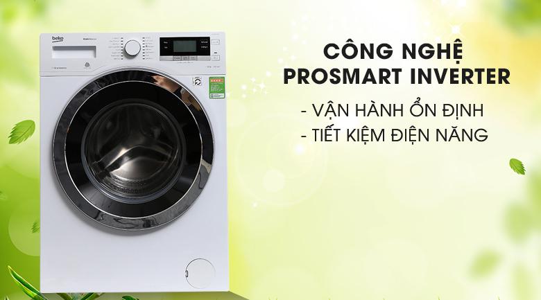 Công nghệ Prosmart Inverter - Máy giặt Beko Inverter 10 kg WY104764MW