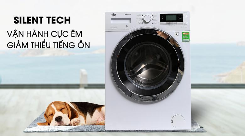 Công nghệ Silent Tech - Máy giặt Beko Inverter 10 kg WY104764MW