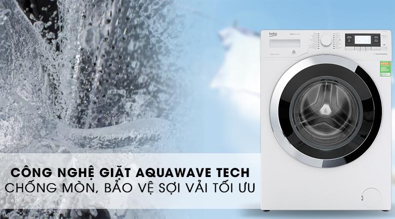 Máy giặt Beko Inverter 10 kg WY104764MW - AquaWave Tech