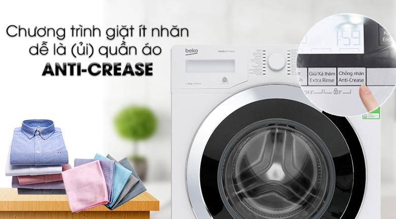 Máy giặt Beko Inverter 10 kg WY104764MW - Anti Crease