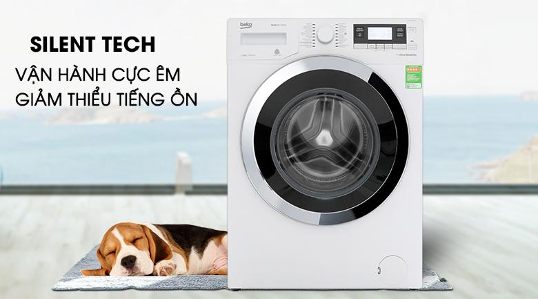 Máy giặt Beko Inverter 10 kg WY104764MW - Silent Tech