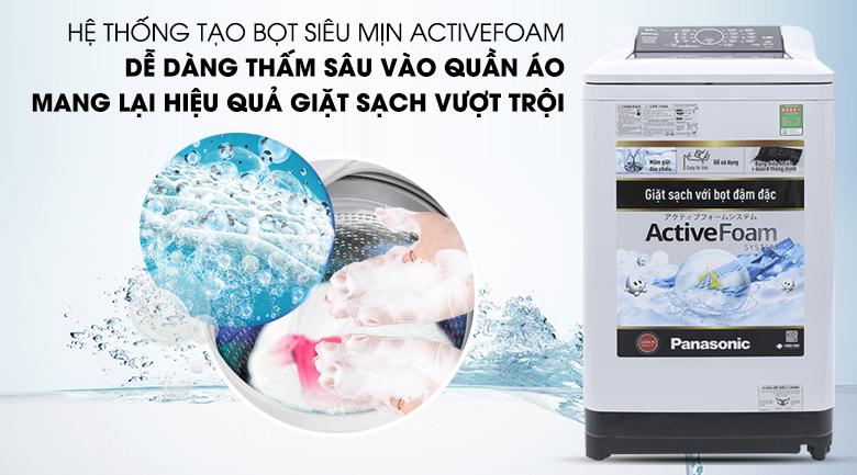Hệ thống Active Foam - Máy giặt Panasonic 8.5 kg NA-F85A4HRV