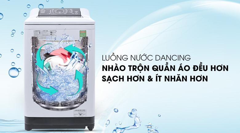 Luồng nước Dancing - Máy giặt Panasonic 8.5 kg NA-F85A4HRV