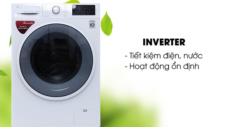 Công nghệ Inverter - Máy giặt LG inverter 8 kg FC1408S4W2
