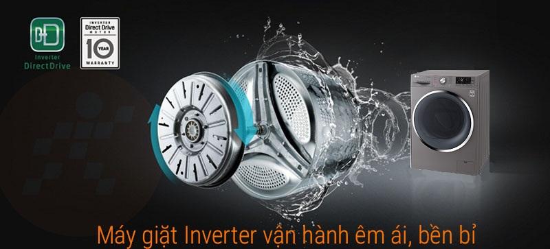 Động cơ Inverter truyền động trực tiếp êm ái