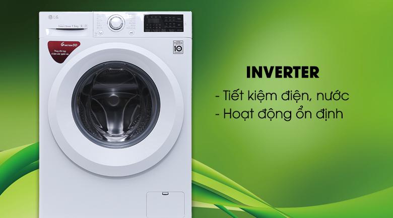 Công nghệ Inverter - Máy giặt LG Inverter 7.5 kg FC1475N5W2