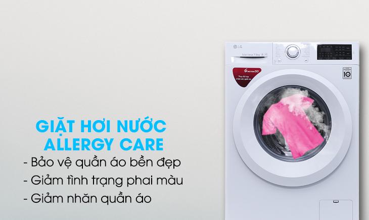 Giặt hơi nước - Máy giặt LG FC1475N5W2