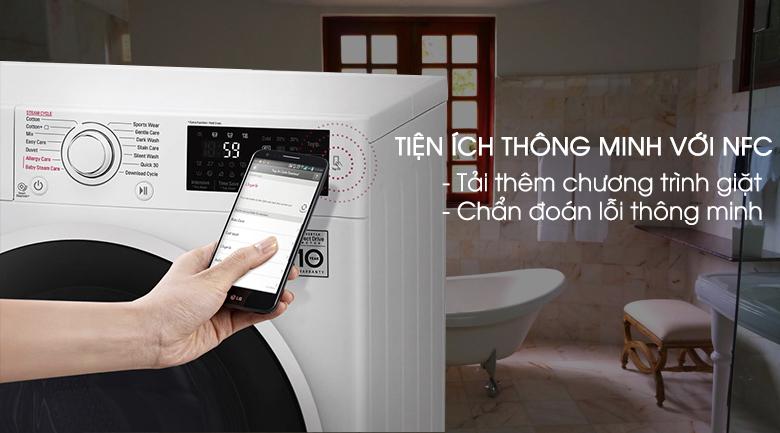 Chức năng chẩn đoán thông minh - Máy giặt LG FC1475N5W2