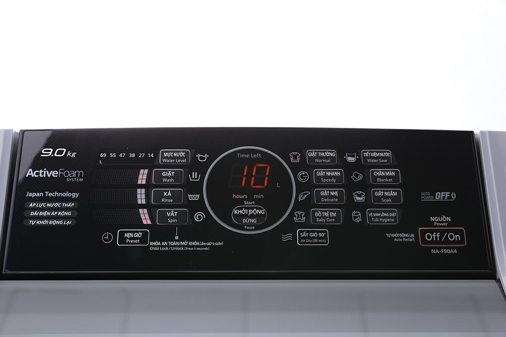 Máy giặt Panasonic 9 kg NA-F90A4GRV hình 4