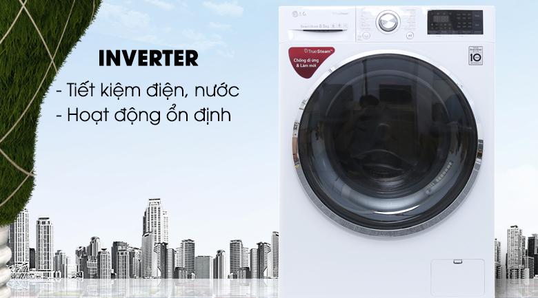 Inverter - Máy giặt LG Inverter 8.5 kg FC1485S2W